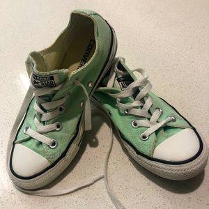 Converse- mint- sz 35